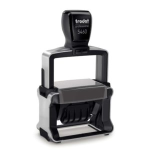 1-5/16″ x 2-1/4″ Trodat Self-Inking Professional Date Stamp