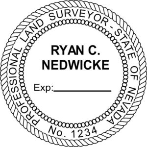 NEVADA Professional Land Surveyor Stamp