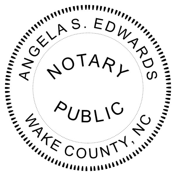 North Carolina Notary Embosser