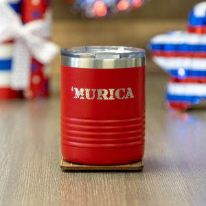 'Murica 10 ounce vacuum insulated mug