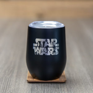 IMG 6197 300x300 - Star Wars 9 Ounce Stainless Steel Stemless Wine Glass