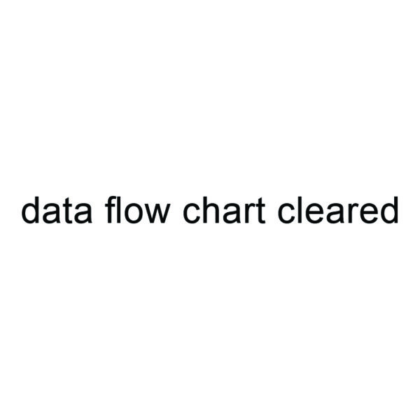 Data Flow Chart Cleared Stamp