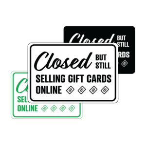 Winmark Closed 2 300x300 - Closed But Still Selling Gift Cards Online temporary sign